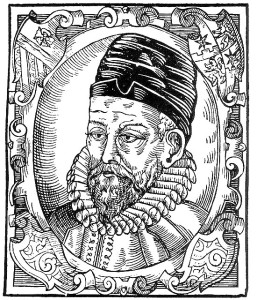 Portrét Petra Voka z Rožmberka, z Diadochu Bartoloměje Paprockého, rok 1602