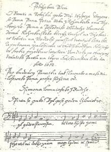 Pohřební píseň o smrti Petra Voka z Rožmberka