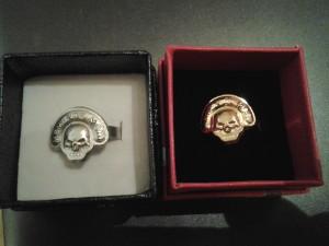 Stará verze řádové insignie, prstenu