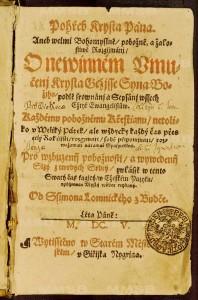titulní strana sborníku, NKP, sign. D.152